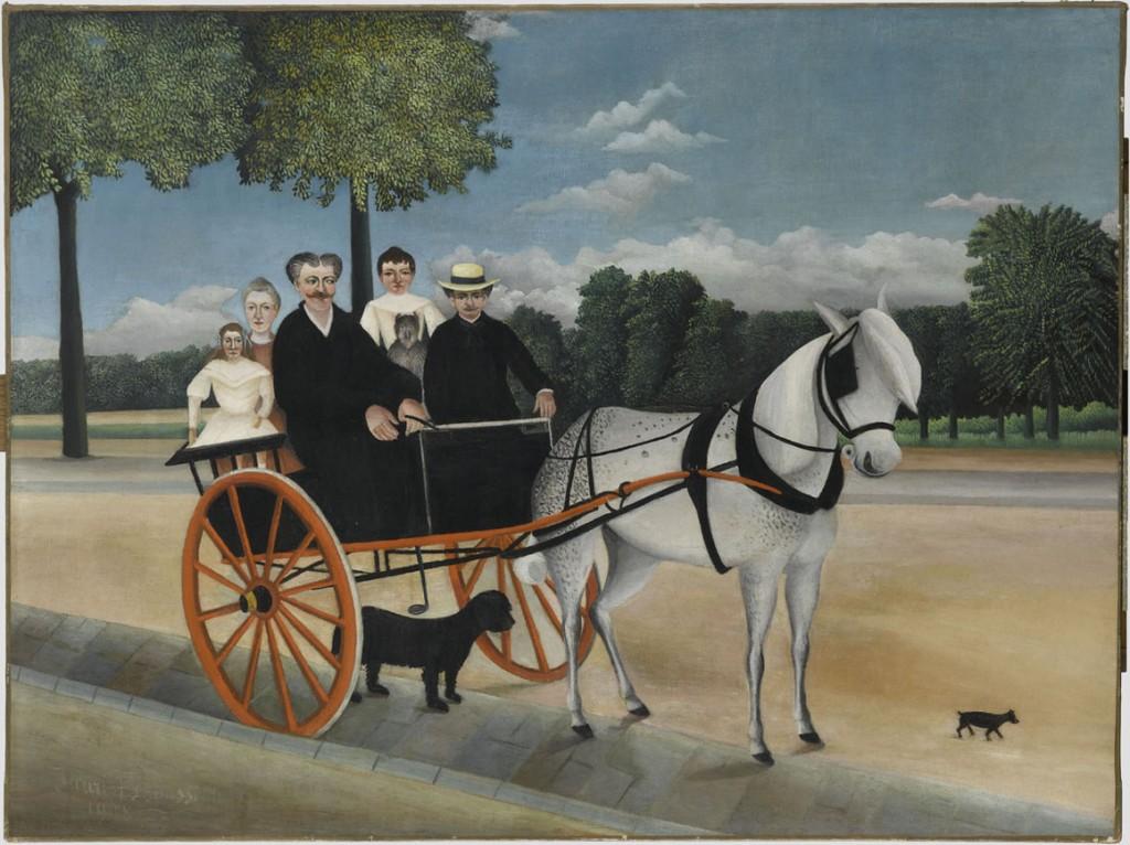 Henri Rousseau, dit Le Douanier Rousseau (1844-1910) La Carriole du Père Junier, 1908