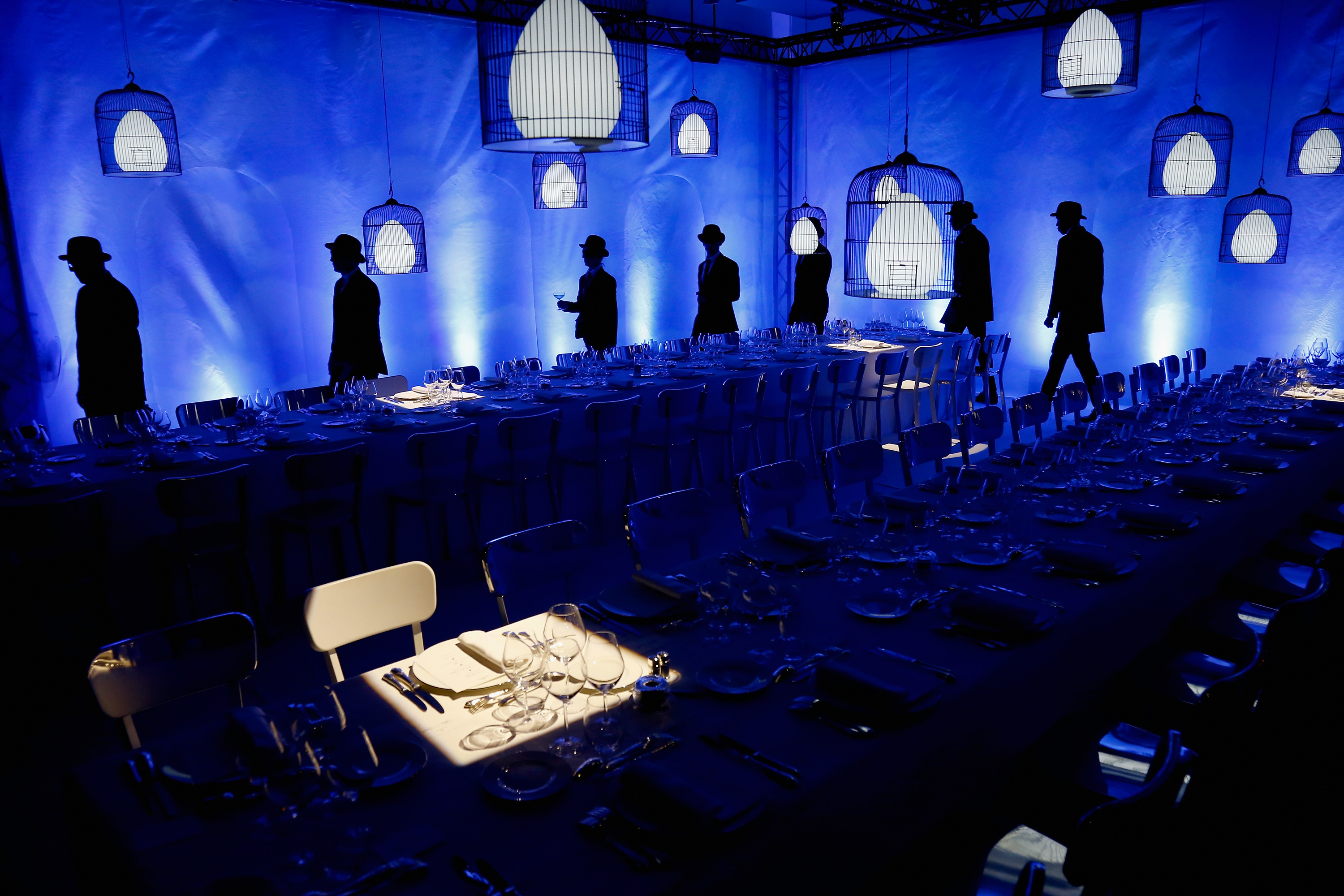 Delvaux Hosts Cocktail & Dinner Inside Magritte Exhibition - Paris Fashion Week Womenswear Spring/Summer 2017